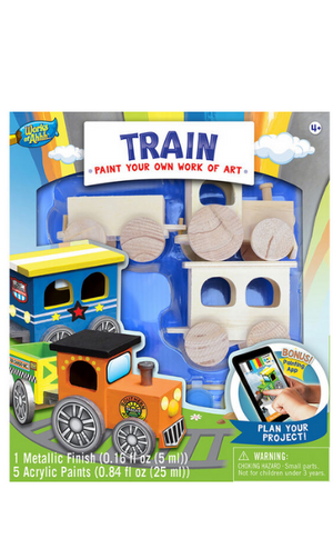 Pint Your Own Toy Train