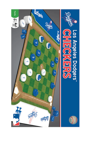 Los Angeles Dodgers Checkers