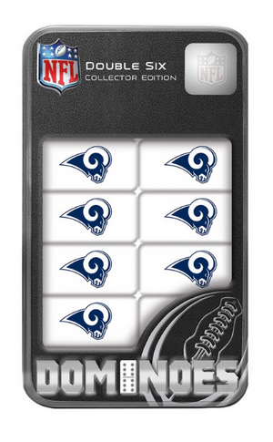 Los Angeles Rams NFL Dominoes Set