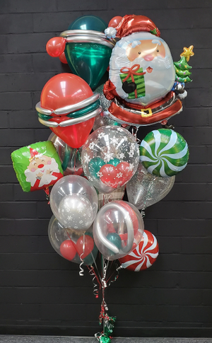 Chrome Santa Bouquet