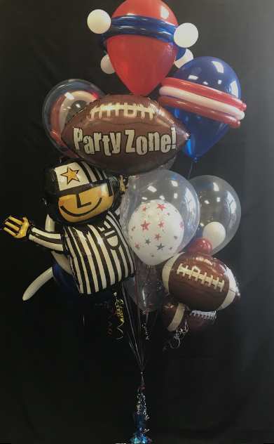 Party Zone Football Bouquet