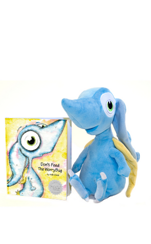 WorryWoo: Wince the Monster of Worry Plush & Book Set