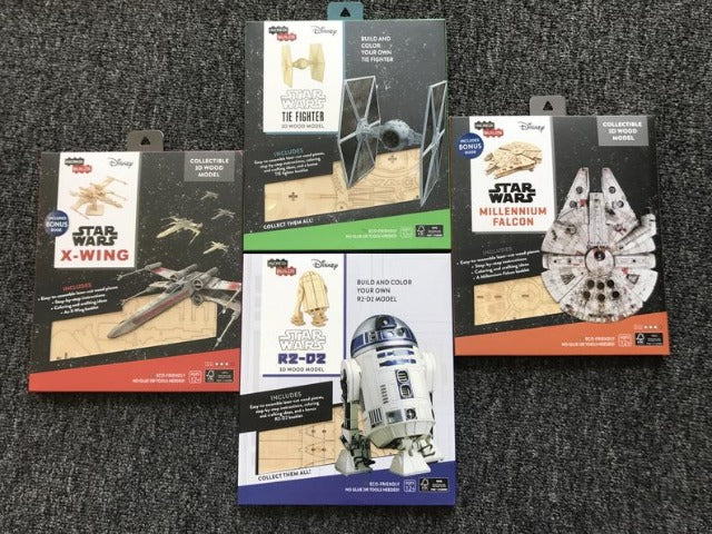 All 4 Star Wars Models