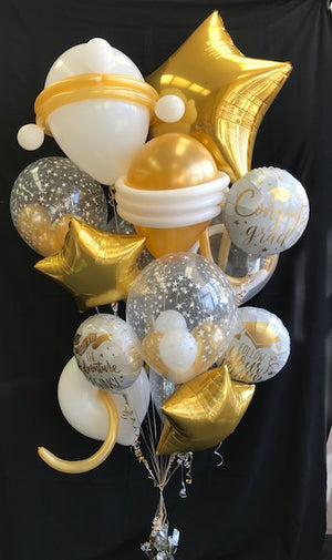 Gold Graduation Bouquet