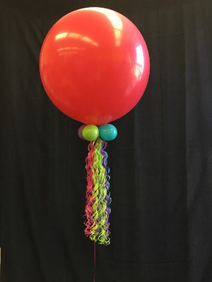 3 foot round with tassel