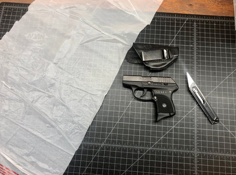 BREAK IN A LEATHER HOLSTER