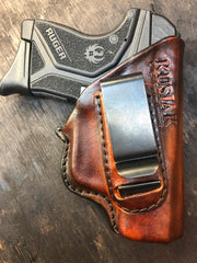 RUGER MAX9 LEATHER HOLSTER RUGER LCP2