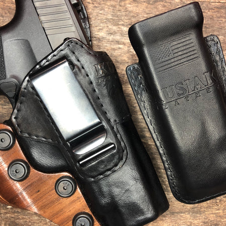 SIG P365XL HOLSTER CLAW - LEATHER IWB HOLSTER