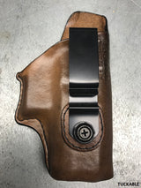 "Springfield XDs 4"" Leather IWB Holster"