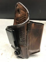 Kimber Micro 9 w/Laser Grip Leather IWB Holster