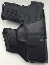XDs Kusiak Leather Holster The Outsider OWB For Outsider the Waistband Carry