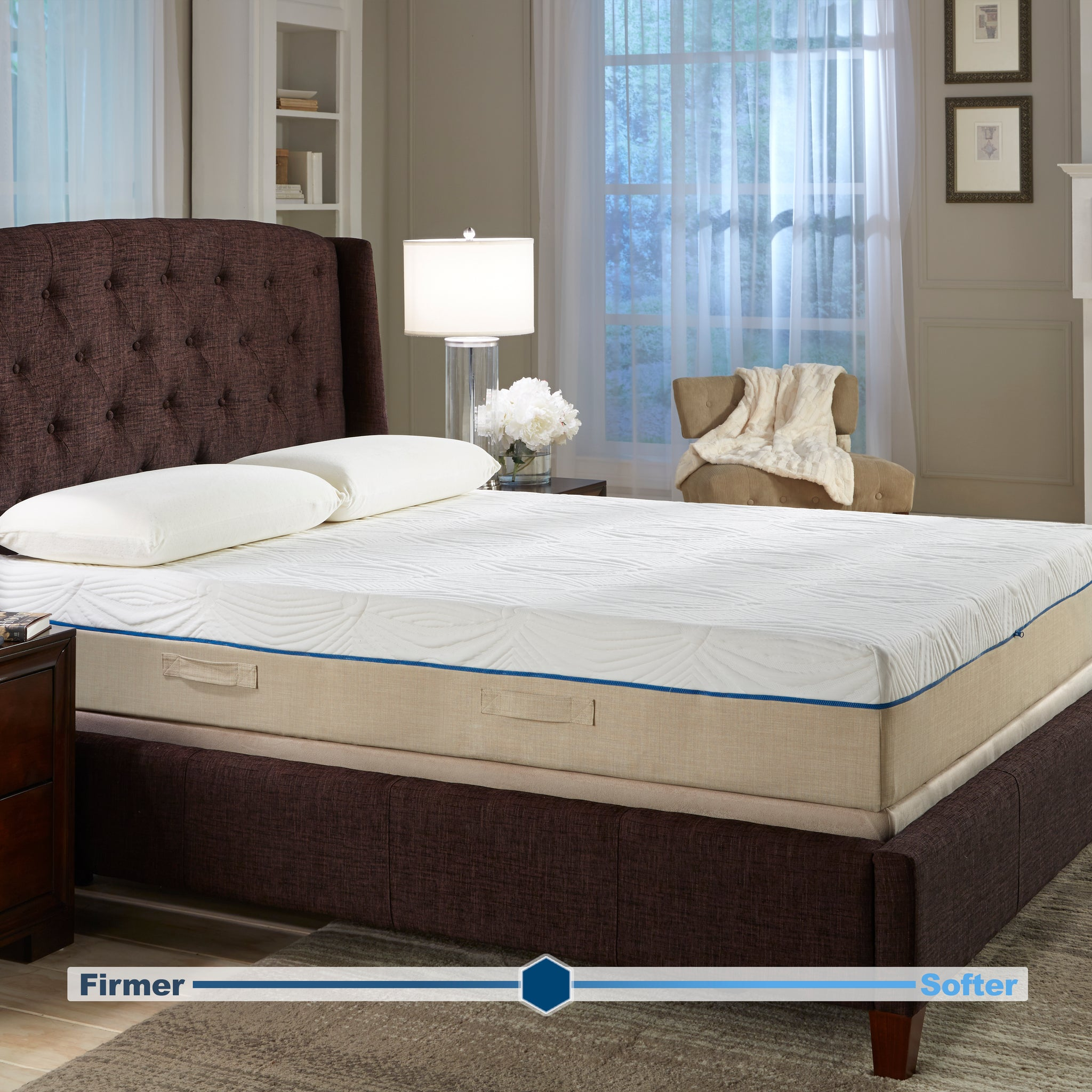 "11"" Carina Gel Memory Foam Mattress"