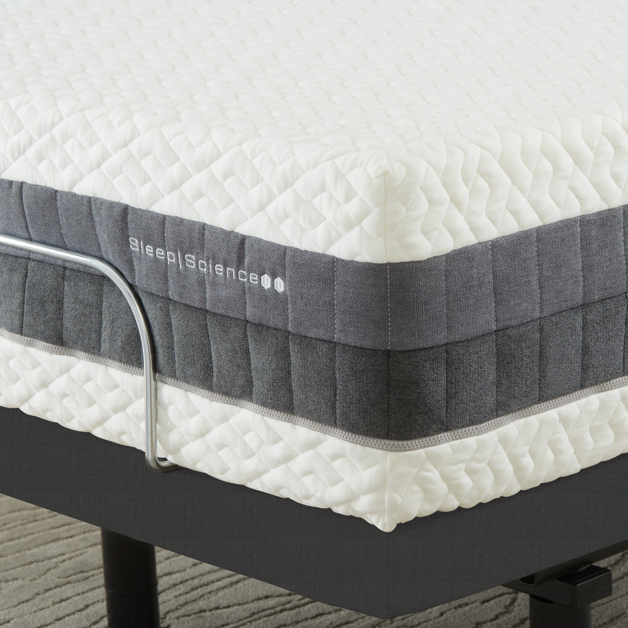"12"" iFlip Hybrid Coil & Memory Foam 2-Sided Mattress"