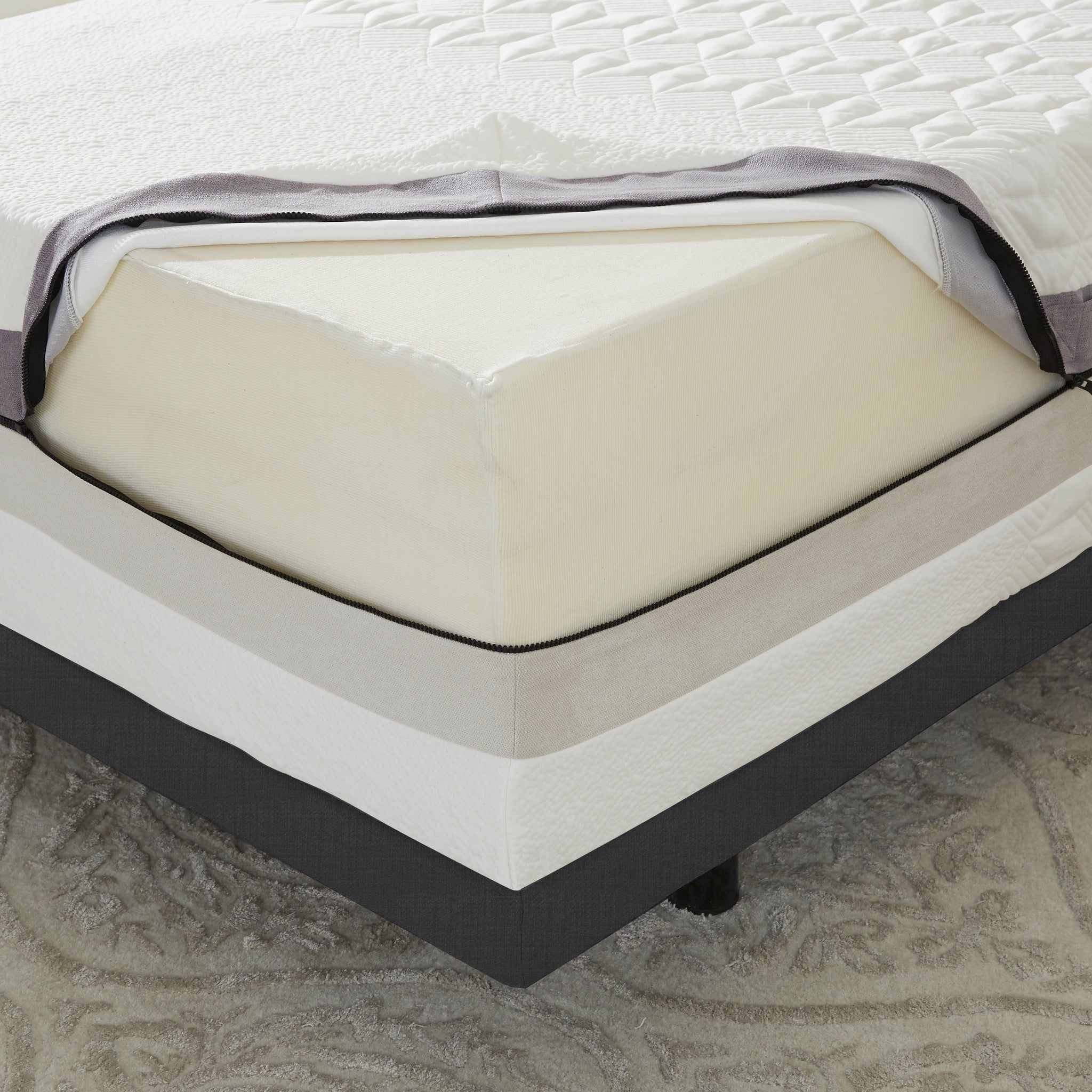 "13"" iFlip Napa 2-Sided Memory Foam Mattress"