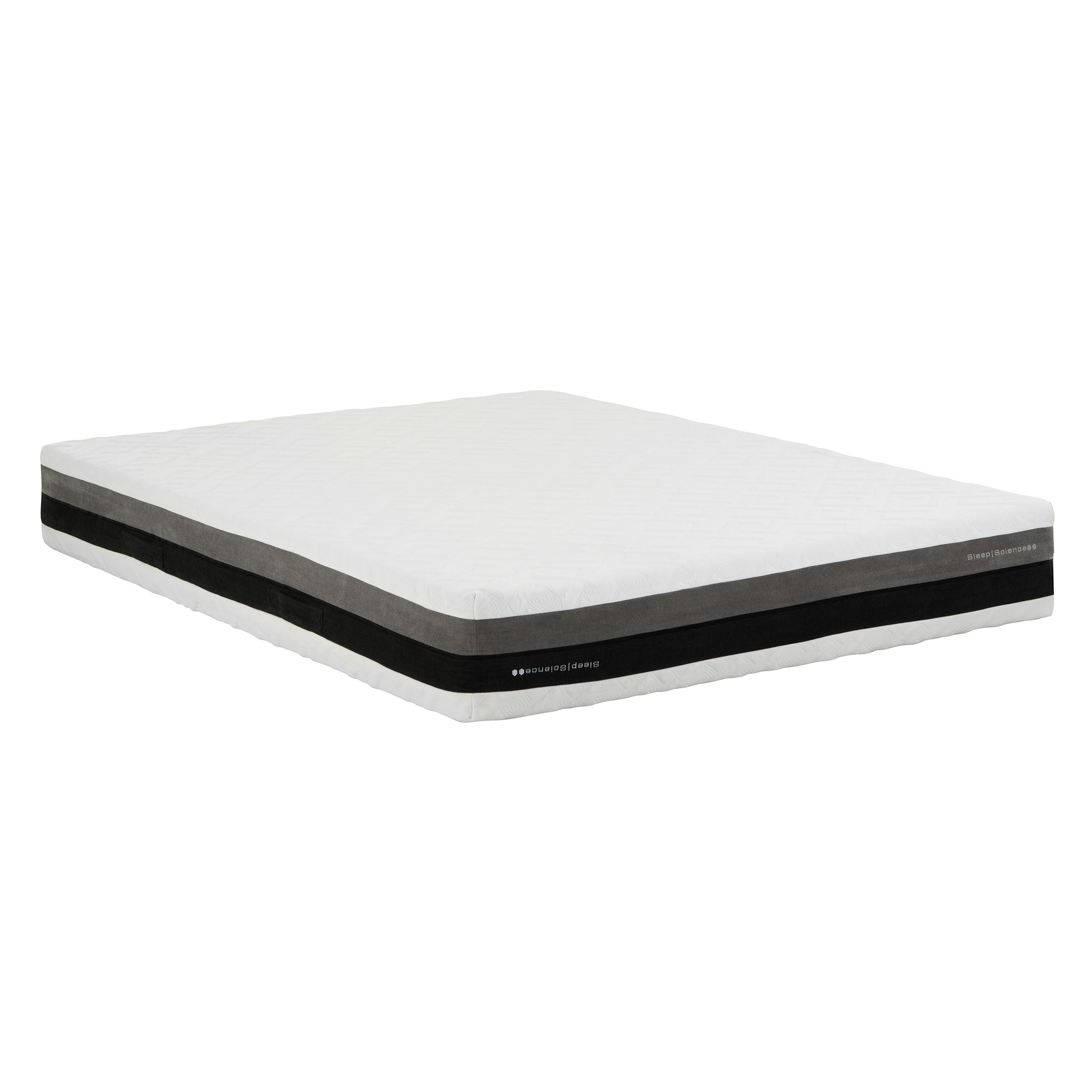 "10"" IFLIP SOLANO 2-SIDED GEL-INFUSED MEMORY FOAM MATTRESS"