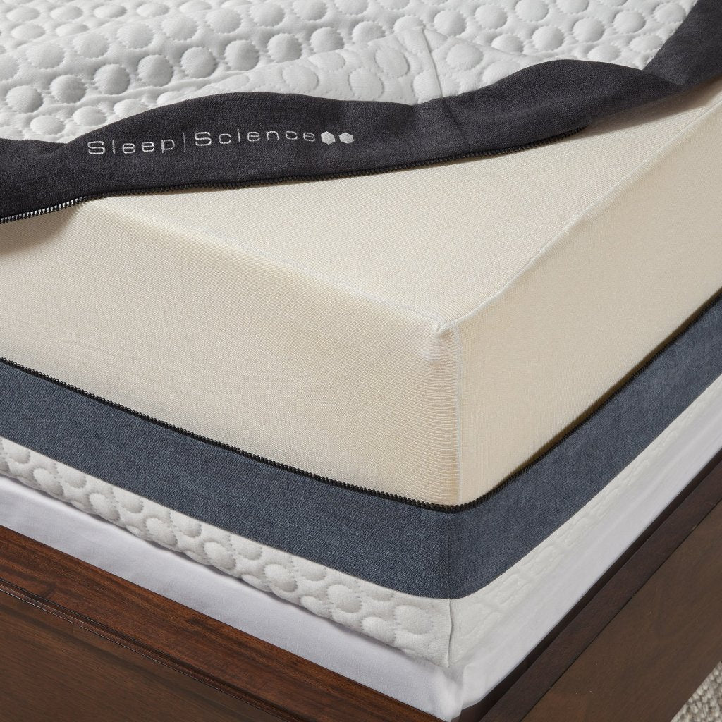"12"" iFlip Sonoma 2-Sided Memory Foam Collection"