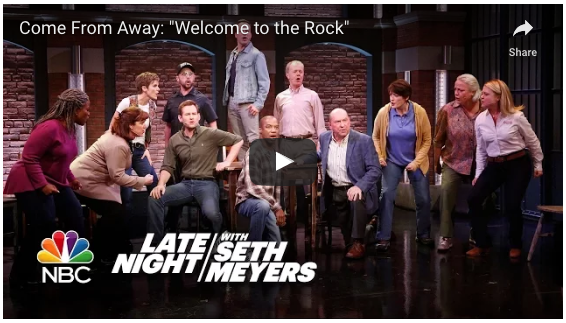 Come From Away - Welcome to the Rock