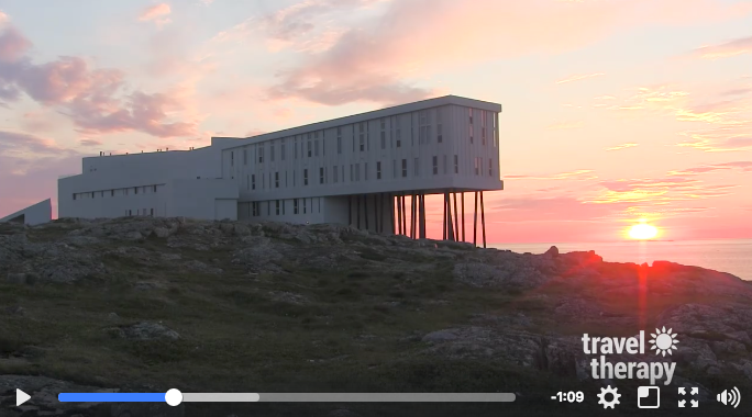 Fogo Island Inn and Come From Away (via Travel Therapy)