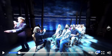 "Step on this Broadway stage for a 360° view of ""Come From Away."" (via NBC)"