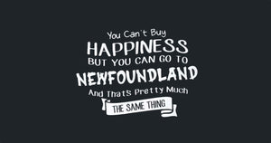 Happiness is Exploring Newfoundland