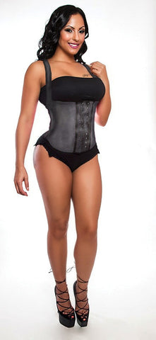 BLACK SLIMMING VEST