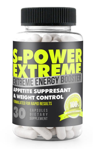 S-POWER EXTREME APPETITE SUPPRESSANT (BEST SELLER)