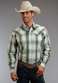 Long Sleeve Stetson Snap 2 Pocket Shirt