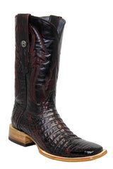 Caiman Belly square toe boots
