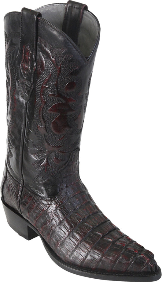 Black Cherry Cowboy Boot Los Potrillos Western Wear
