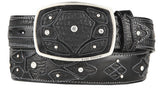 Men's King Exotic Shark Western Fashion Belt