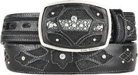 Men's King Exotic Stingray Western Fashion Belt