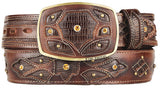 Men's King Exotic Teju Lizard Western Fashion Belt
