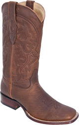 Honey Miel Rage Square Cuadrada Toe Los Potrillos Western Wear