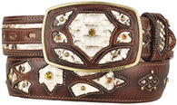 Men's King Exotic Python Western Fashion Belt