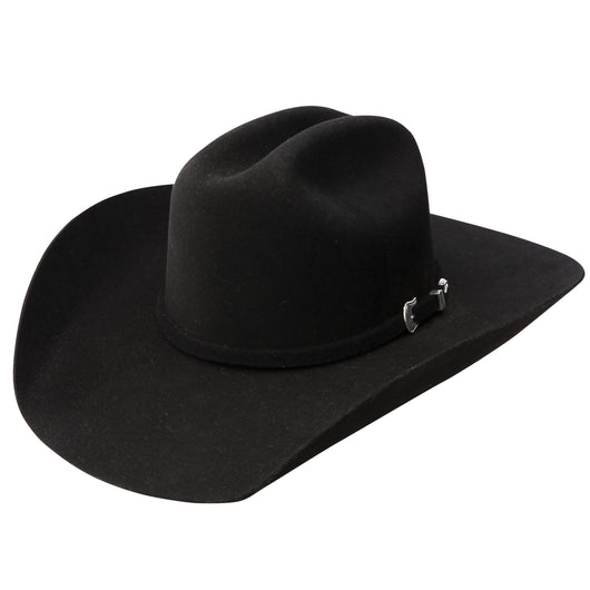 Resistol Tucker 3X black wool hat