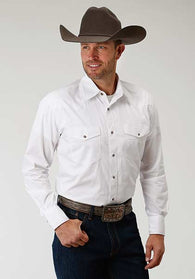 White Snap Shirt Los Potrillos Western Wear