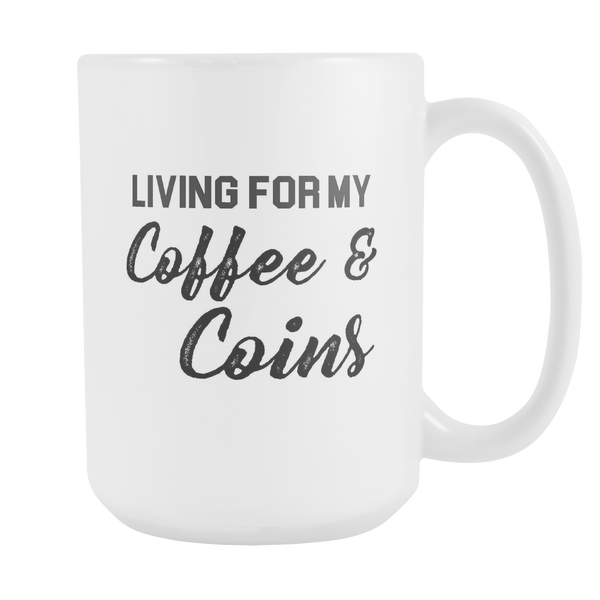 Coffee & Coins Mug