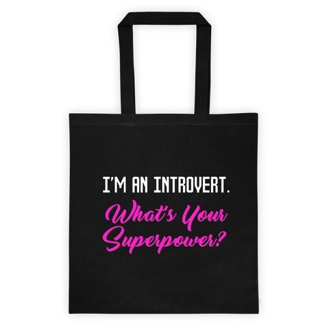 """Introvert"" Tote"