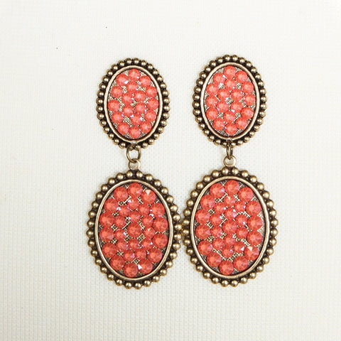 Mini Oval Post with Small Oval Earring