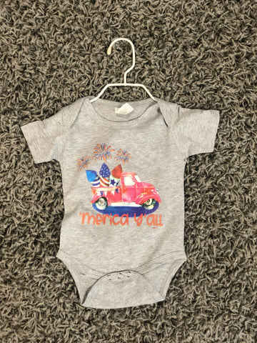 'Merica Ya'll Infant T-Shirt