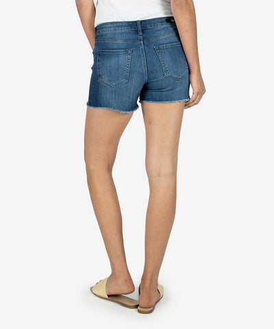 GIDGET HIGH RISE FRAY SHORT