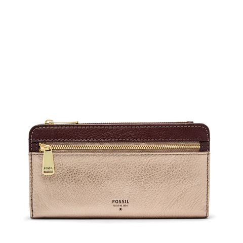Fossil Preston Bi Clutch - Taupe Metallic