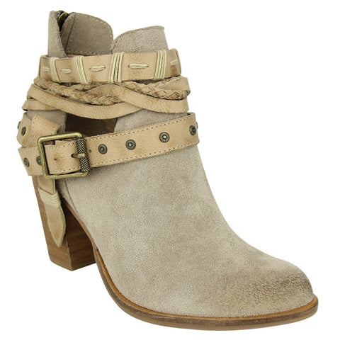 Cuthbert-Taupe Bootie