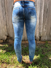 Fashion Method Distressed Skinny Jeans
