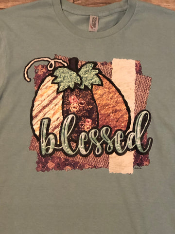 Blessed Pumpkin Shirt