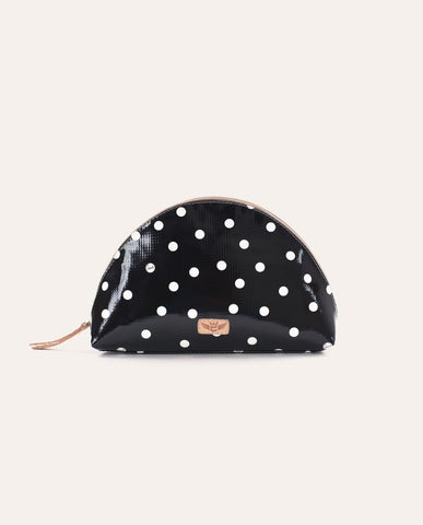 Legacy Black Dot Large Domed Cosmetic 7431