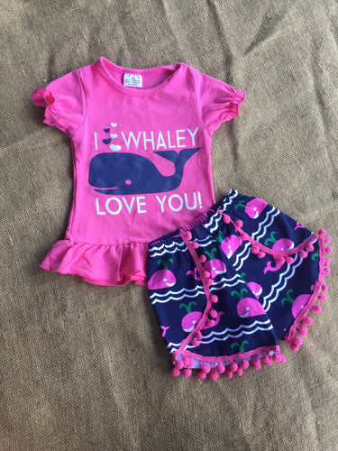 I Whaley Love You Children's Outfit
