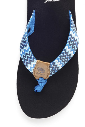 Paige II Girl's Sandal in Blue
