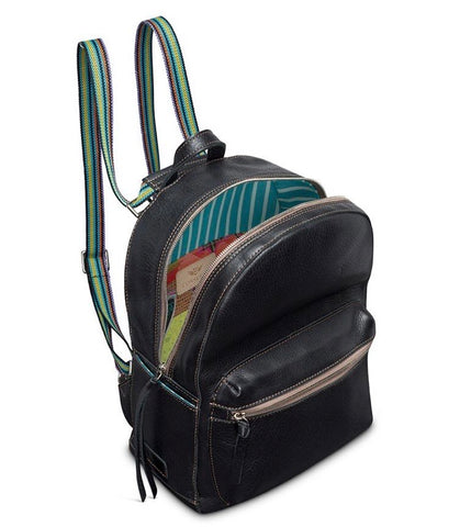 Evie Black Backpack 7251