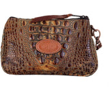 Savannah Hornback Gator Print Make up Bag